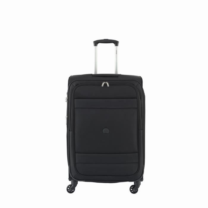 valise souple indiscrete 4 roues 69 cm noir 00 achat vente valise bagage 3219110360295. Black Bedroom Furniture Sets. Home Design Ideas