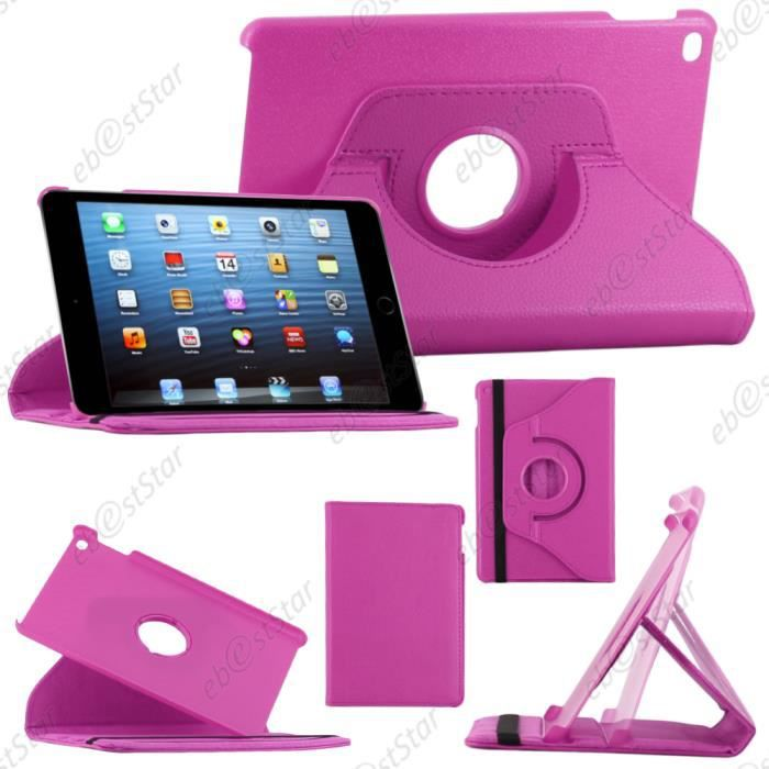 ebeststar pour apple ipad mini 4 etui rotatif violet film achat housse tui pas cher avis. Black Bedroom Furniture Sets. Home Design Ideas