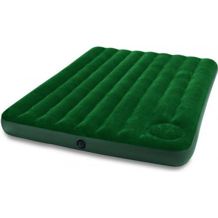 Matelas downy 2 personnes xl intex achat vente lit gonflable airbed - Taille matelas 2 personnes ...