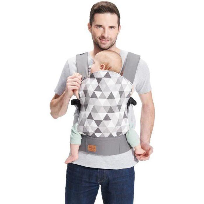 Photo de kinderkraft-nino-porte-bebe-des-la-naissance-ergonomique-anti-dysplasie