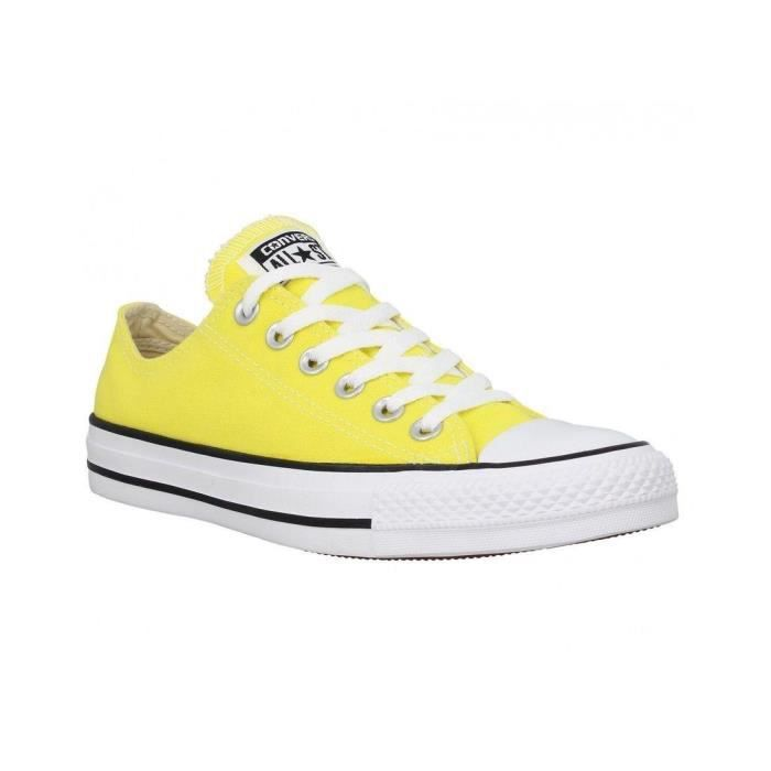 Baskets Baskets femme converse all star ox f Jaune - Achat ...