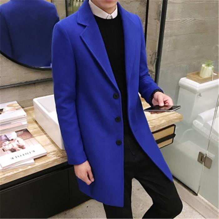 Homme Britannique Long Costume Style Plusieurs 2018 Hiver 5ALqR4j3