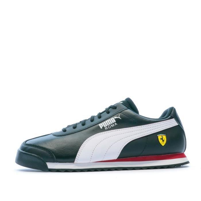 Basket Ferrari Noire blanche Homme PUMA SF ROMA Black - Cdiscount ...