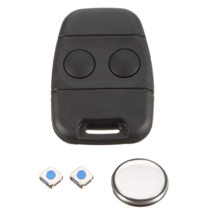2 Boutons Coque boitier Cle Telecommande Pour Rover Discovery lame plate Key