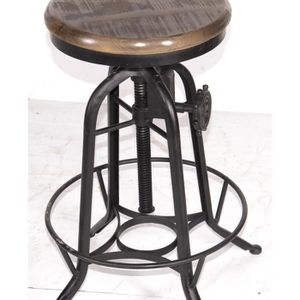 tabouret bar bois metal achat vente tabouret bar bois metal pas cher les soldes sur. Black Bedroom Furniture Sets. Home Design Ideas