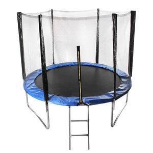 XUDREZ Trampoline dext/érieur avec filet de 1,5 m pour enfants tapis de saut rond pour trampoline dint/érieur et dext/érieur charge maximale 200 kg