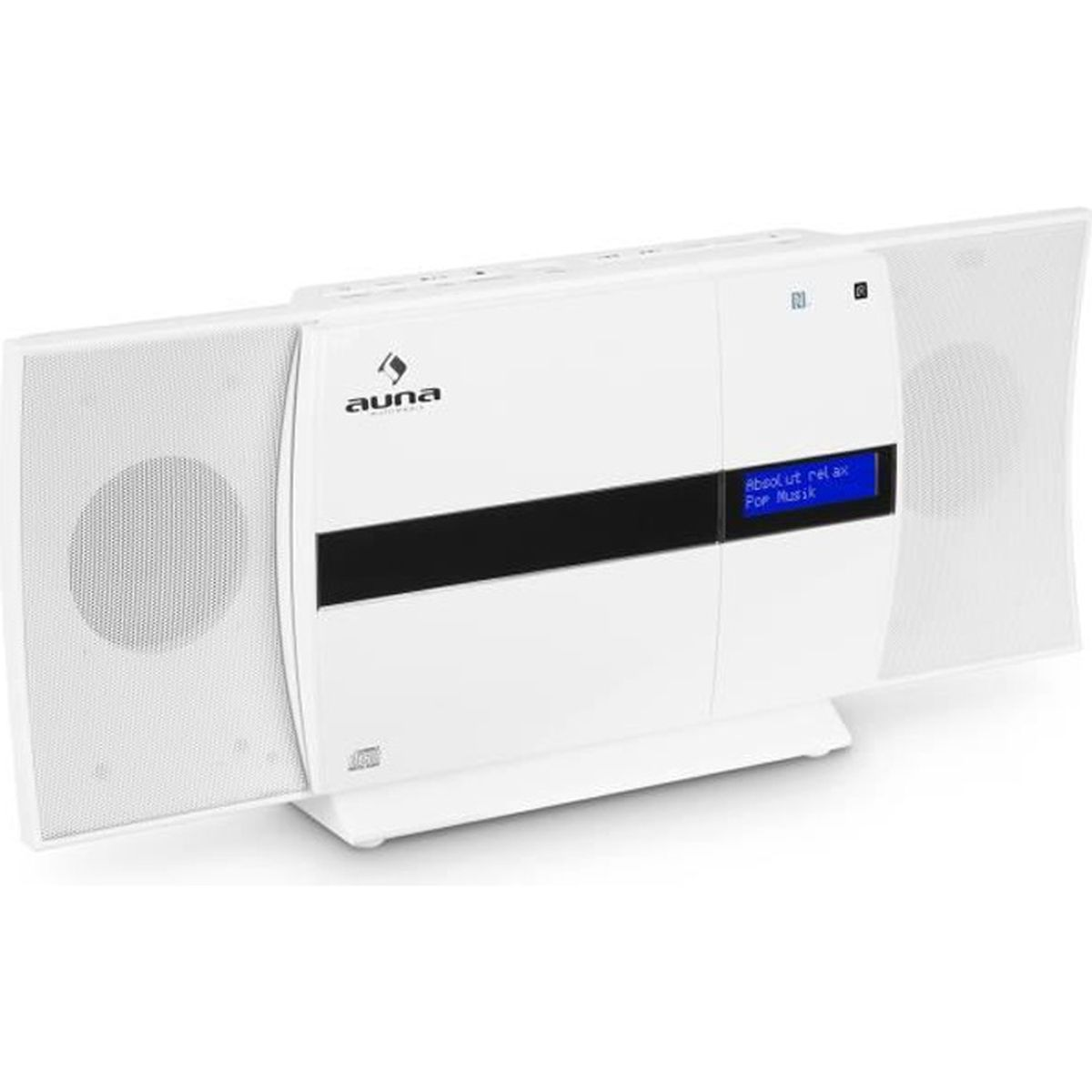 CHAINE HI-FI auna V-20 DAB Chaîne stéréo verticale Bluetooth NF