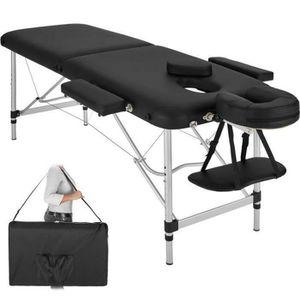 APPAREIL DE MASSAGE  Table lit de massage soin pliable transportable bo
