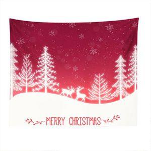 Plaid merry christmas sapin de Noël Flanelle Polaire Super Doux Avec Boucle