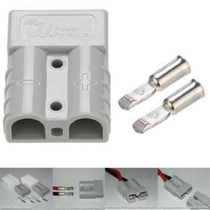 CHARGEUR DE BATTERIE 1 pc 50Amp style plug Chargeur de batterie DC 12v