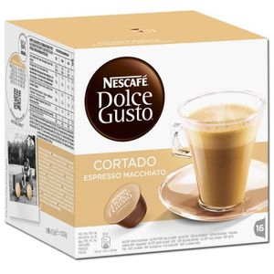 CAFÉ Nestlé Dolce Gusto Cortado Espresso Macchiato, Caf