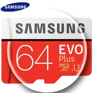 CARTE MÉMOIRE Carte Mémoire Micro SD 64 GB SAMSUNG - M1839