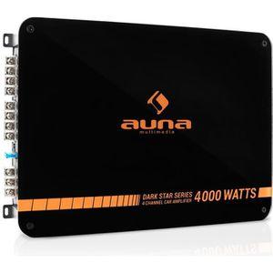 AMPLIFICATEUR AUTO auna Dark Star 4000 - Ampli auto 4 canaux 400W RMS