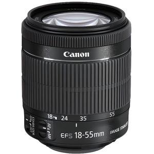 OBJECTIF Canon EF-S 18-55mm f-3.5-5.6 IS Objectif
