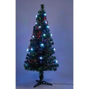 SAPIN - ARBRE DE NOËL Sapin vert de Noël - H 150 cm - Fibre optique + 26