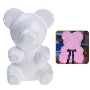 Décors de table ours en mousse polystyrène modelage boules d'artis