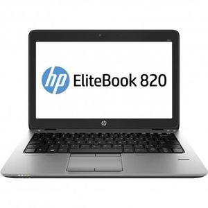 PC Portable Pc portable HP 820 G2 - i5 - 4Go - 120Go SSD -12.5'' - W10 pas cher