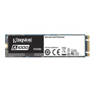 DISQUE DUR SSD Kingston SSD Interne A1000 NVMe M.2 (960Go) - SA10