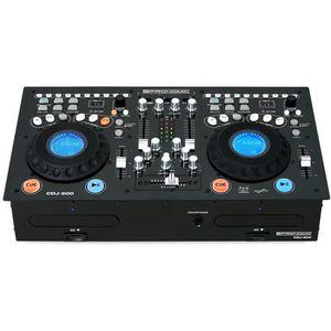 PLATINE DJ Pronomic CDJ-500 Full-Station lecteur CD double po