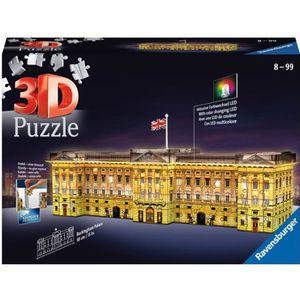 PUZZLE RAVENSBURGER Puzzle 3D Buckingham Palace illuminé