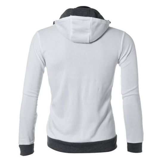 Sweats Hommes Manteaux Zip Slim Sweatshirt Fit Outwear Capuche À Chaud Hauts 8IrTnaIq