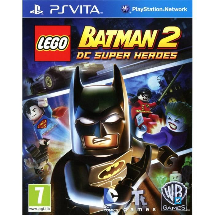 lego batman 2 jeu ps vita achat vente jeu ps vita lego batman 2 jeu ps vita cdiscount. Black Bedroom Furniture Sets. Home Design Ideas