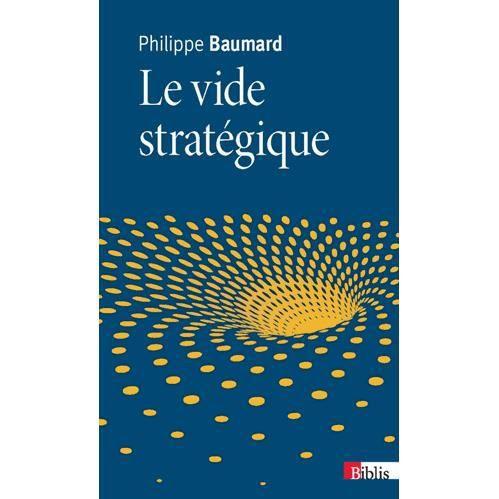 LIVRE GESTION Le vide stratégique
