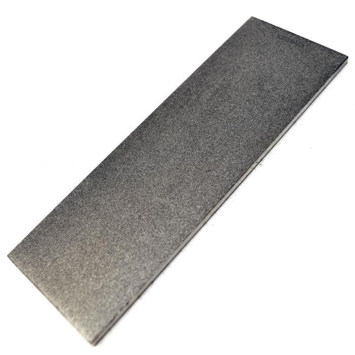 6 pierre à affûter diamant professionnel- / gros grain pour toutes les lames TE562