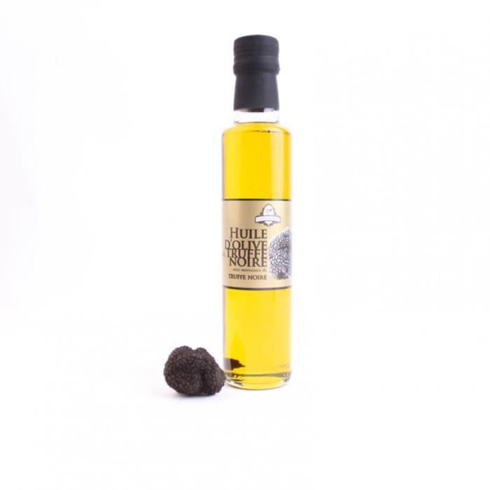 Huile d'olive vierge extra a la truffe noire 250 ml - Intergourmandise