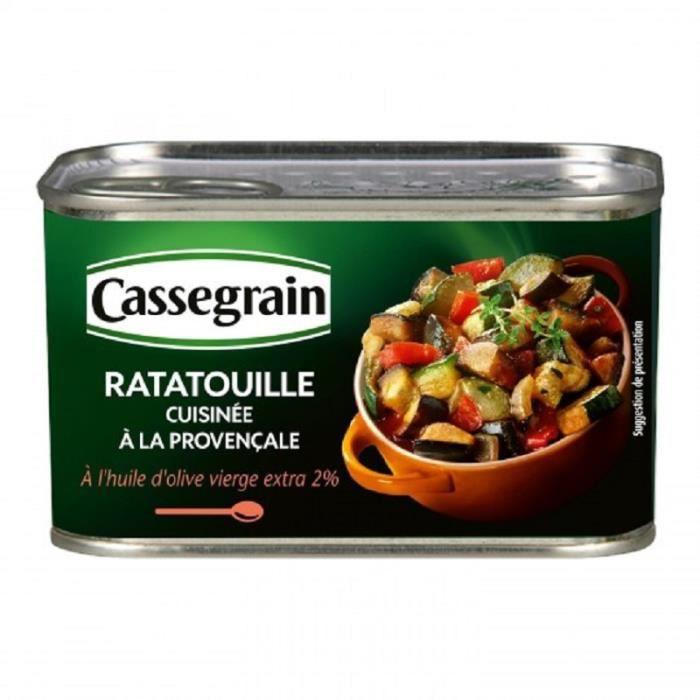 BONDUELLE Légumes cuisinés ratatouille à la Provençale - 380G