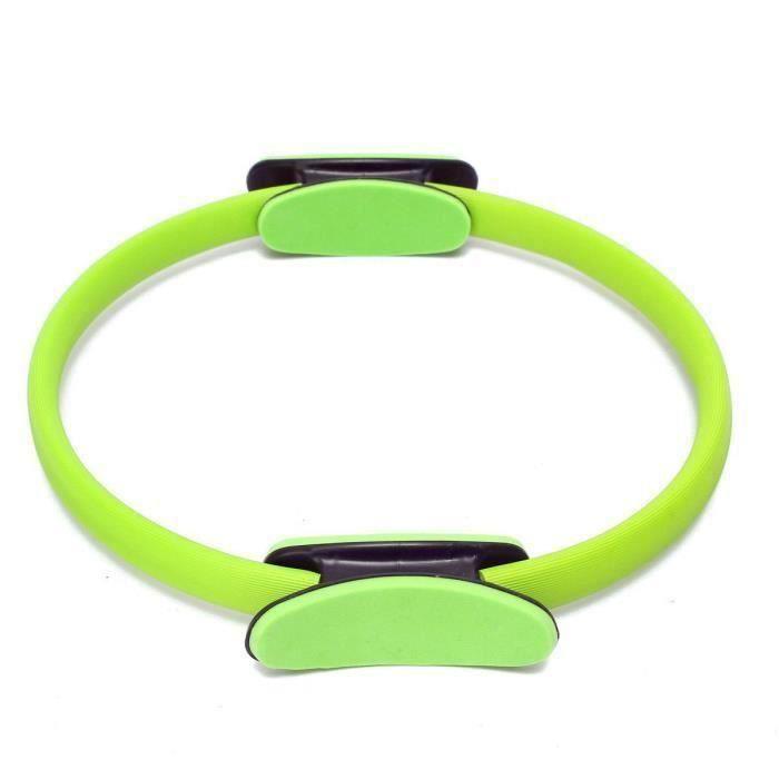 Pilates Anneau d'exercice cercle de resistance Anneau d'entrainement Anneau de yoga vert