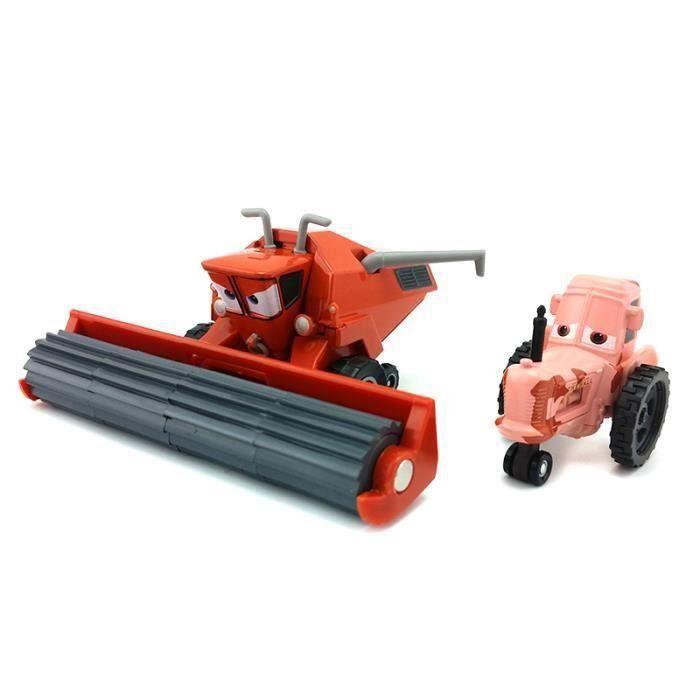 Disney Pixar Cars Frank Et Tracteur Diecast Toy Voiture Pour Enfants cadeaux 1:55 Lâche Alliage Modle