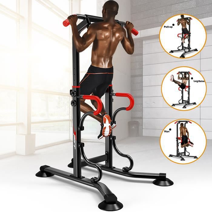 Pullup Fitness Barre de Traction Ajustable Charge MAX 150KG