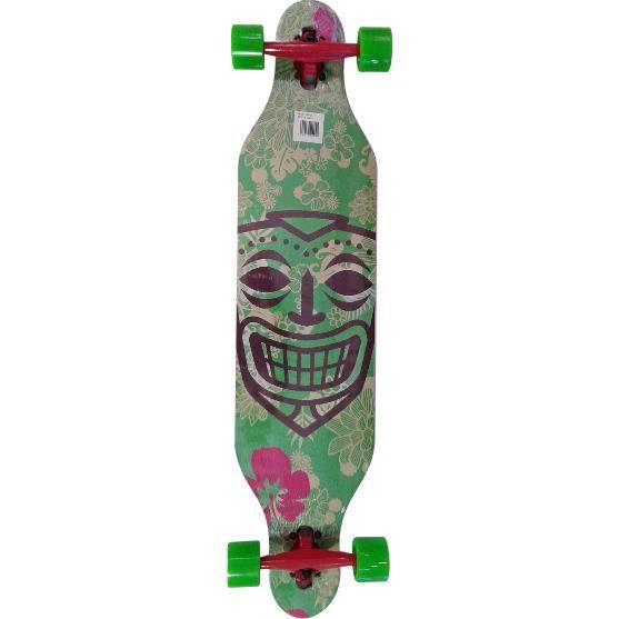 Longboard 41'' Pro Adulte/ skateboard motif maya