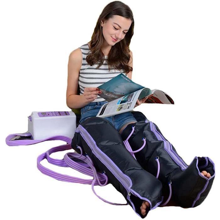 THALASSO PIEDS - THALASSO MAINS Appareil de Massage Pieds et Jambes, avec Compression d'air pour Am&eacuteliorer Circulation 179