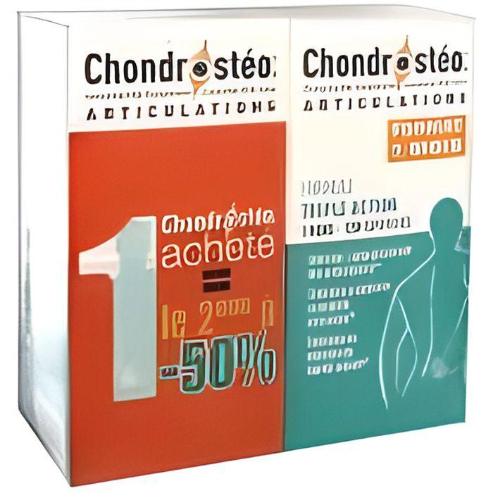 CHONDROSTEO+® 2 X 120 COMPRIMÉS LE 2E À -50%