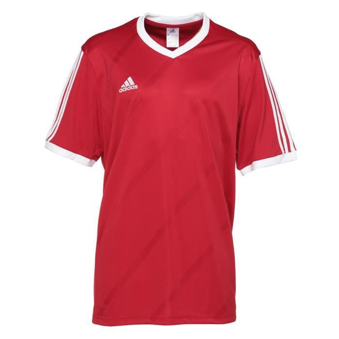 ADIDAS TABE 14 T-shirt homme - Rouge / Blanc