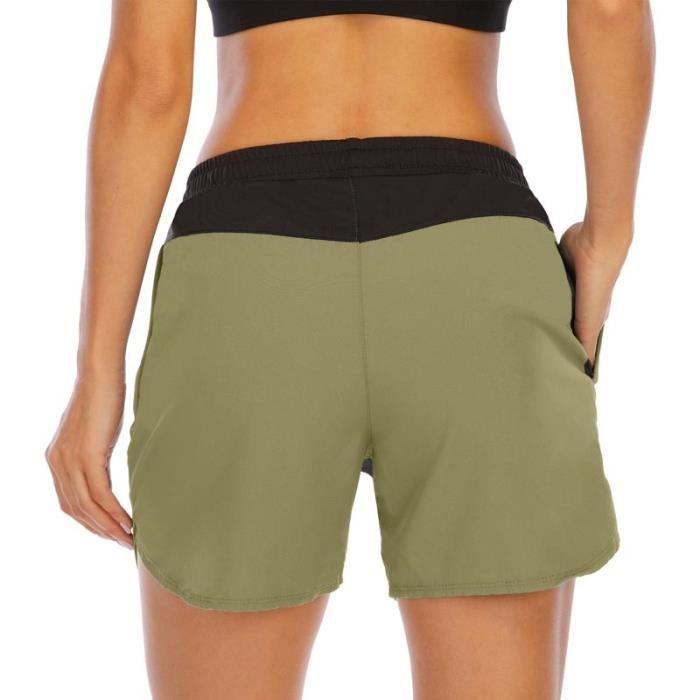 Short de Course Femme Sport Fitness Séchage Rapide Respirant Pour Gym Jogging Running Yoga