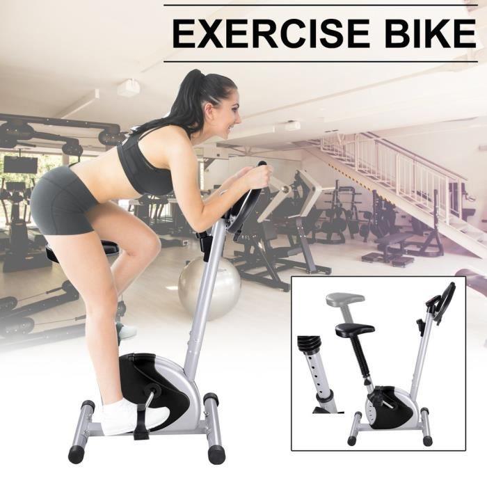 F-Bike et F-Rider - Hometrainer - entraîne tout le corps - entraînement cardio capacité de 125 KG - noir