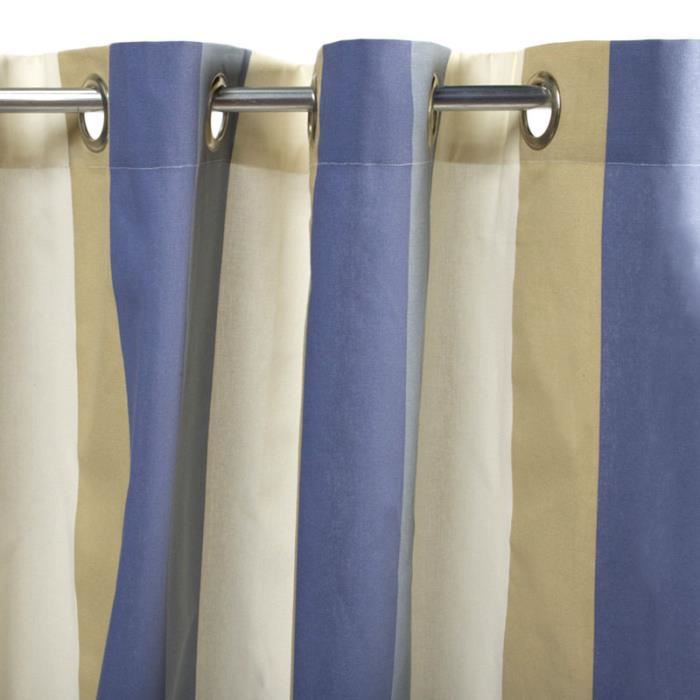 Rideau PECHE BAYA (150x250cm) Multi • 100% coton