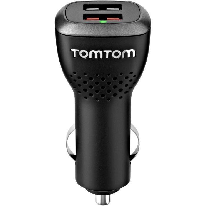 TOMTOM - Accessoire pour GPS - Chargeur double haute vitesse.