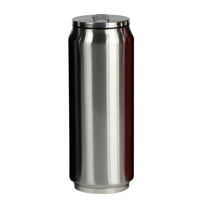 YOKO DESIGN Canette Isotherme 500 ml - Inox