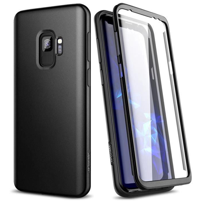 Suritch Coque rigide Samsung Galaxy S9 plus avec protection