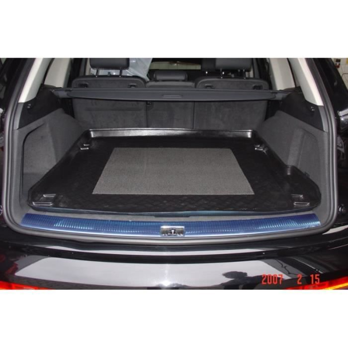 audi q7 4x4 5 ptes sans rail 2006 bac de coffre achat vente tapis de sol audi q7 4x4 5 ptes. Black Bedroom Furniture Sets. Home Design Ideas