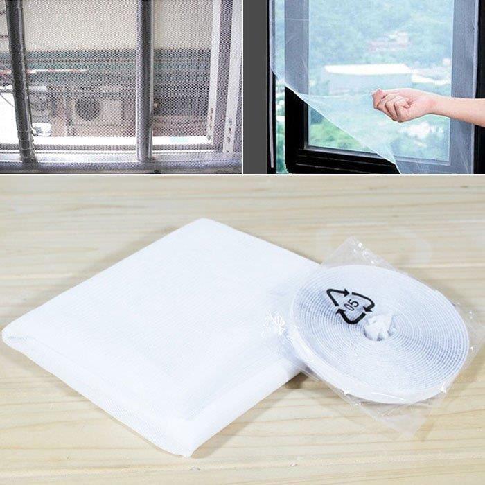 /Gris anthracite POLLEN Protection Tissu Pollen Grille de protection filtre /à pollen pour fen/êtres avec bande Velcro 130/x 150/cm/