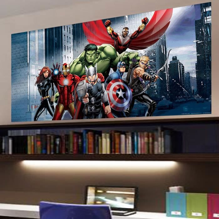 poster g ant h ros avengers marvel achat vente affiche poster cdiscount. Black Bedroom Furniture Sets. Home Design Ideas
