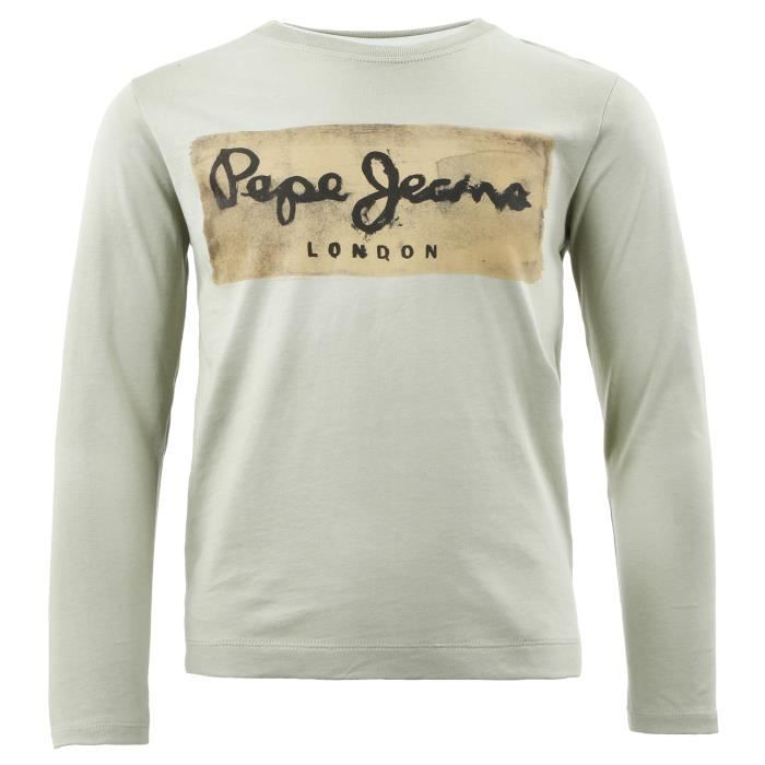 T-SHIRT PEPE JEANS Charing T-Shirt Mc Garcon - Taille 8 an