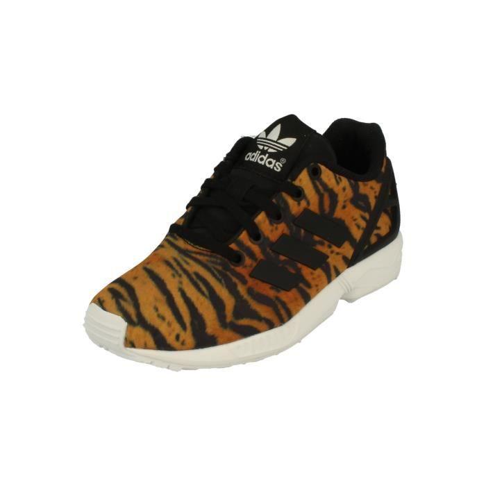 Adidas Originals Zx Flux Kids Trainers Sneakers