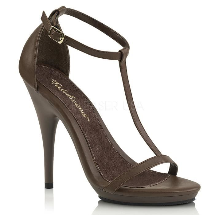 SANDALE - NU-PIEDS Pin Up Couture IVY-09 Femme