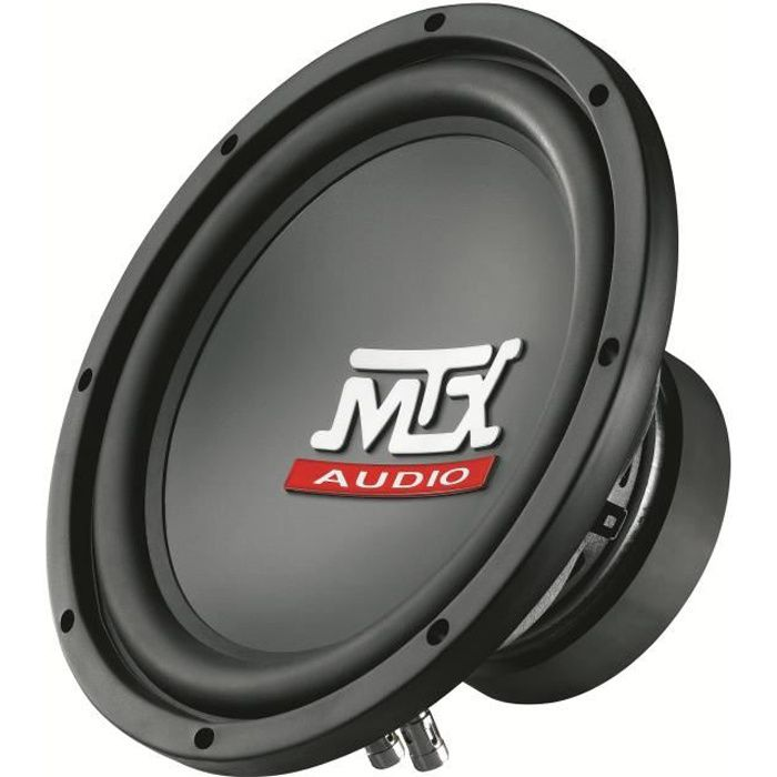 SUBWOOFER VOITURE MTX Subwoofer RT10-04 Ø25 cm 4Ω 250 W RMS